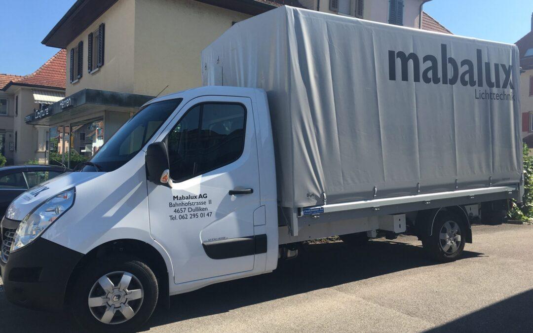 Neuer Mabalux LKW – bereit zum ausliefern