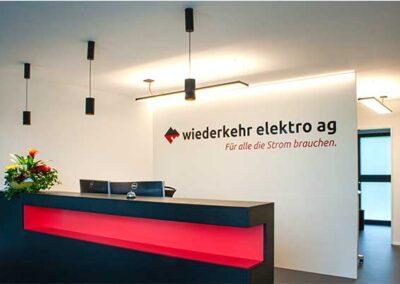 Wiederkehr Elektro AG, Kirchleerau