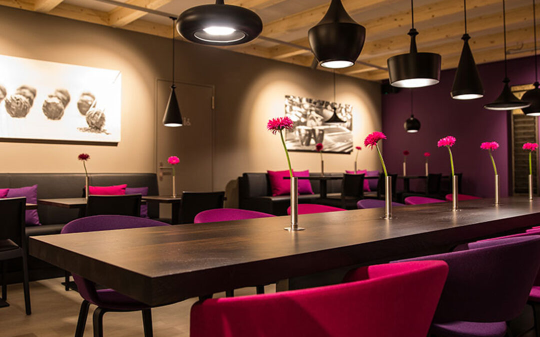 Im Café Truffe, Bäckerei Mohn AG in Berg, wird Genuss mit Freude vermittelt.