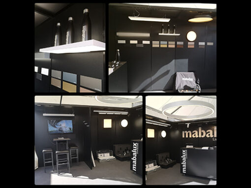 Mabalux Messestand and der Expo Energietechnik 2021